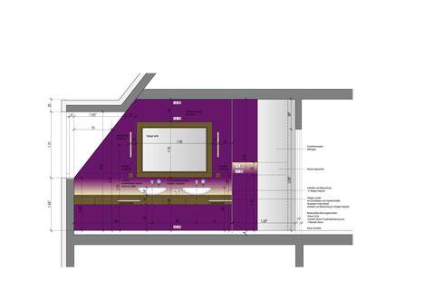 Umbau Badzimmer, Schaffhausen / Atelier Wilck