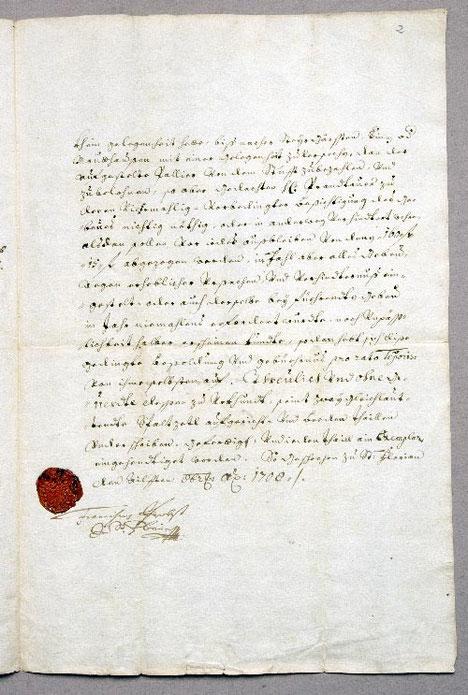 Vertrag mit St. Florian