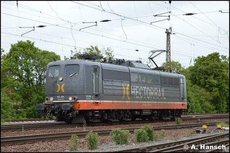 Hinter 162.004 von HectorRail verbirgt sich 151 057-7, welche ich am 15. Mai 2019 in Leipzig-Wiederitzsch antraf