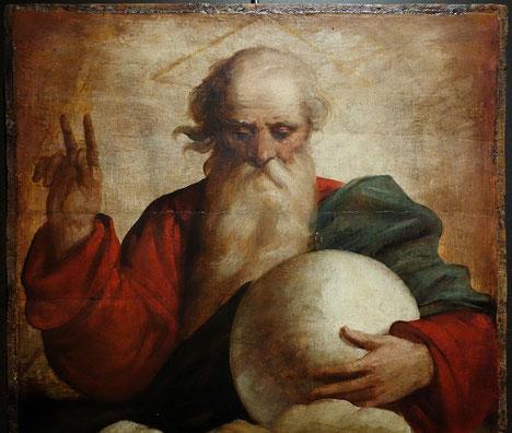 Der Gott-Vater-Darsteller Isaak segnet alle, die ein Teil des Jakob-Christus sind. Dies gilt also nur für solche Menschen, die dem auf Golgatha zum Täter Gewordenen vertrauen und ihm angehören.