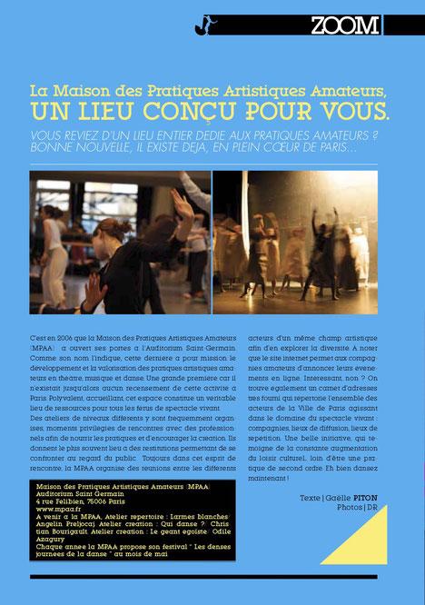 Gaëlle Piton journaliste spécialisée dans la danse et le spectacle vivant.