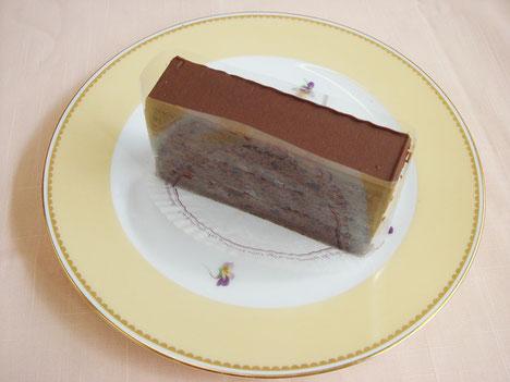フロランタンのチョコレートケーキ バンドオペラ