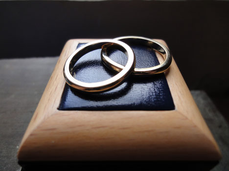 Argollas de Matrimonio, Oro Amarillo 18K