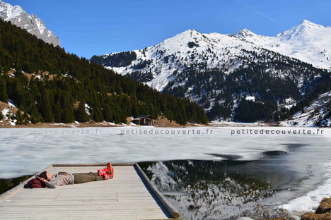 Lac de  Tueda - Méribel -Savoie