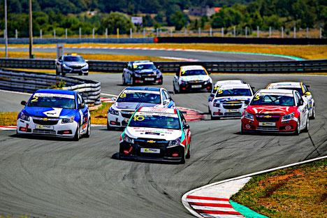 Chevrolet Cruze Eurocup 2020 Markenpokal Real Racing Action Automotodrom Grobnik Kroatien Sommerhitze