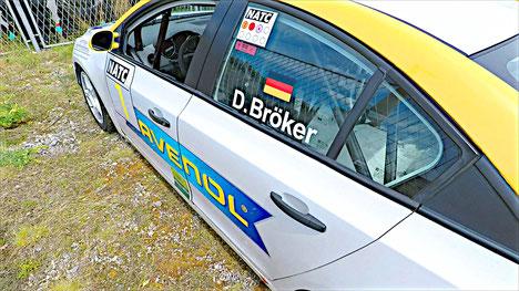 Rennfahrer aus Bad Salzuflen Dennis Bröker Chevrolet Cruze Eurocup 2020 Ravenol Automotodrom Grobnik Pfister-Racing Tourenwagen
