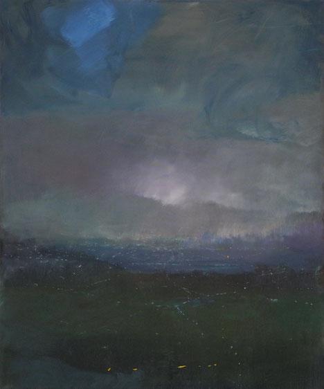 Dämmerung, Öl/Leinwand, 120 x 80 cm, 2017