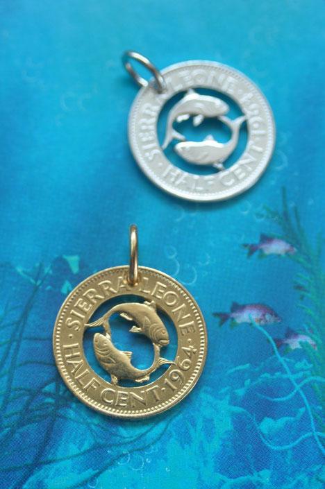 Münzsägewerk Katrin Thull   Sierra Leone - Fische