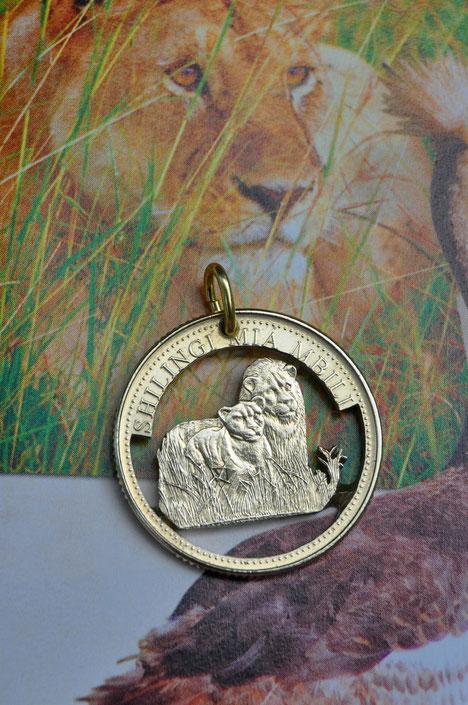Münzsägewerk Katrin Thull | Tansania - Löwen