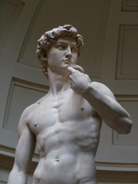 Самые известные работы Миккеланджело - Давид