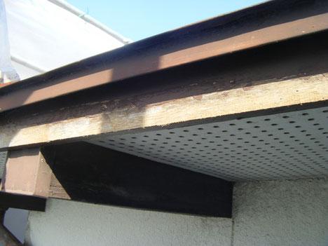 熊本T様宅。 木部 破風板塗装前