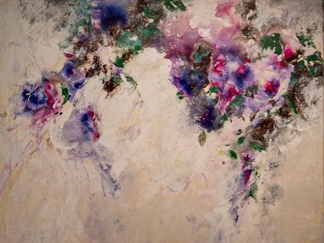 "Nr. 27 / ANNA BAUER / ""ohne Titel""(2), Acryl auf Leinwand, 80x60cm, (verkauft)"