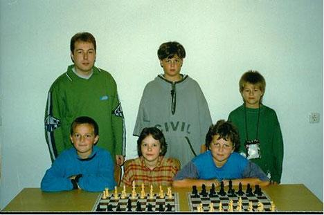 Bayerischer Vizemeister U13 1996 und 8.Platz Deutsche Meisterschaft: Germering