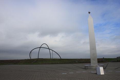 Horizont-Observatorium und Sonnenuhr