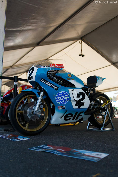 Yamaha 750 OW31 de 1979, vice-championne du monde 750cc
