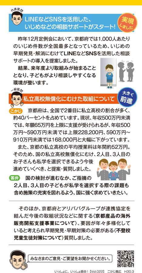 2018年 Vol.022/ハガキ・裏面