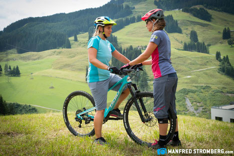 Guide Women's Bike Camp Saalbach - Photo credit: Manfred Stromberg