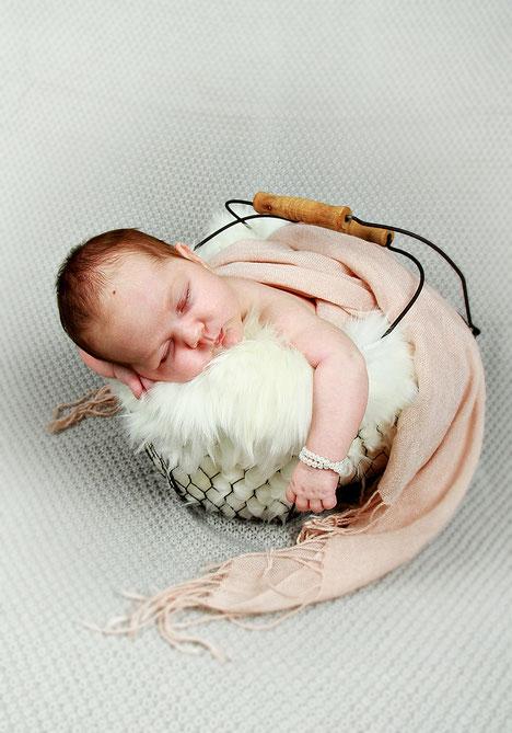 Babyfotoshooting - Fotostudio Hallbergmoos Iris Besemer www.pictureandmore.com
