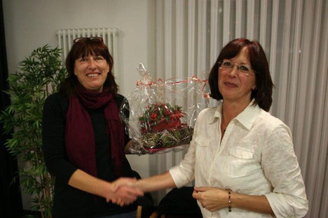 Verabschiedung von unserer langjährigen Kassenwartin Ingrid Nepf.
