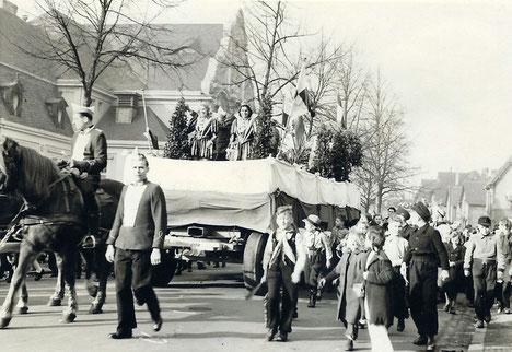 Karnevalszug in Wiesdorf