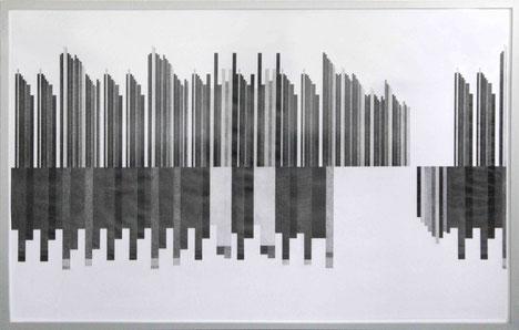 Verirrt, 2017, Bleistift auf Papier, 88 x 135 cm