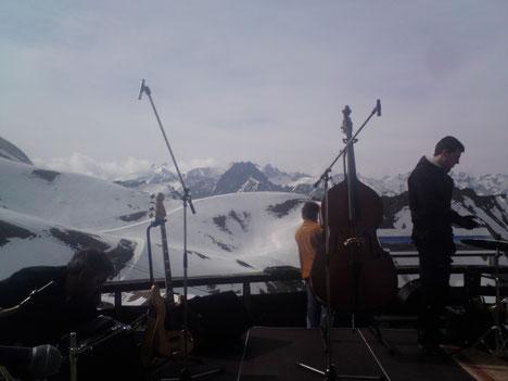 "Gig auf dem Nebelhorn im Rahmen des ""Kemptener Jazzfrühling"""