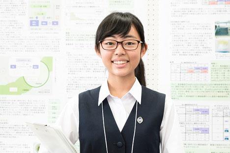 島田美樹さん(3年)