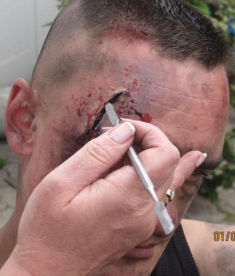 Wunde Make up