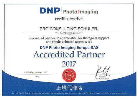 Zertifizierter DNP Distributor Zertifikat Händler