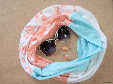 Etsy Qc, On a testé, M L'atelier de couture, foulard infini