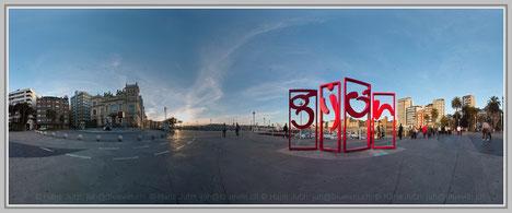 Gijon, Spaniene; Hans Jutzi; Panormaphotografie; PTGui; Bildershop