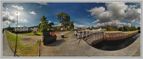 Caledonian Canal, Scotland; Hans Jutzi; Panormaphotografie; PTGui; Bildershop