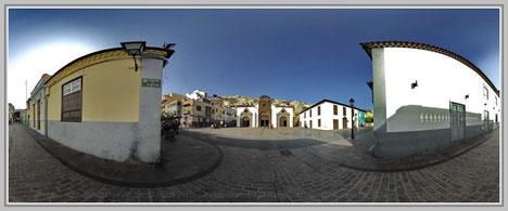 San Sebastian de la Comera 1, La Comera; Hans Jutzi; Panormaphotografie; PTGui; Bildershop