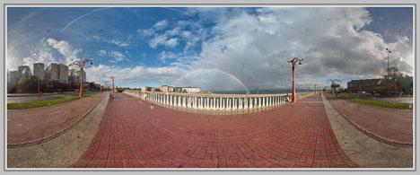 La Coruna 5, Spanien; Hans Jutzi; Panormaphotografie; PTGui; Bildershop