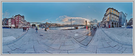 Porto 1, Portugal; Hans Jutzi; Panormaphotografie; PTGui; Bildershop