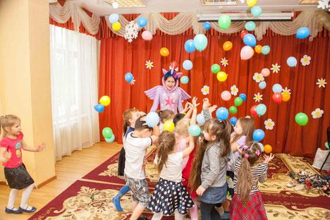 Шар-сюрприз на детский праздник и день рождения ребенка