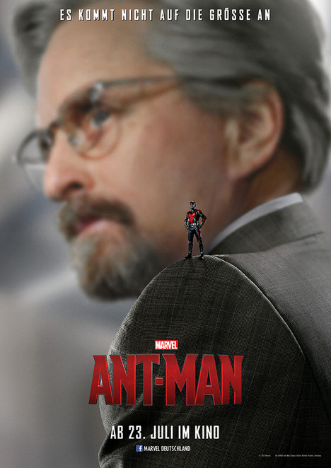 Ant-Man - Paul Rudd - Michael Douglas - Disney Marvel - kulturmaterial