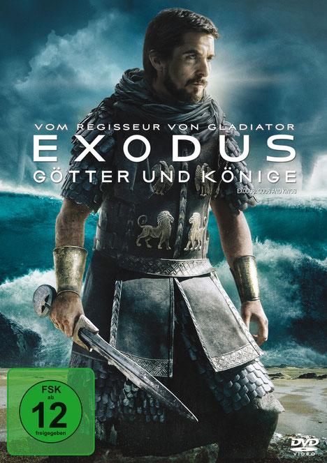 Exodus Götter und Könige - DVD Packshot - Christian Bale - 20th Century Fox - kulturmaterial