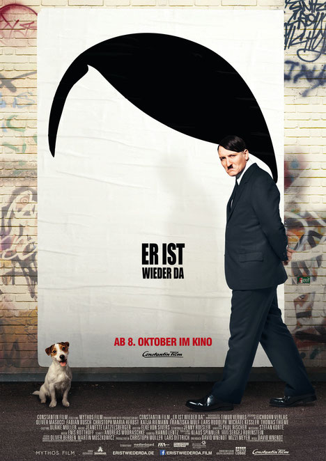Er ist wieder da - Film - Constantin - kulturmaterial - Filmplakat - Poster