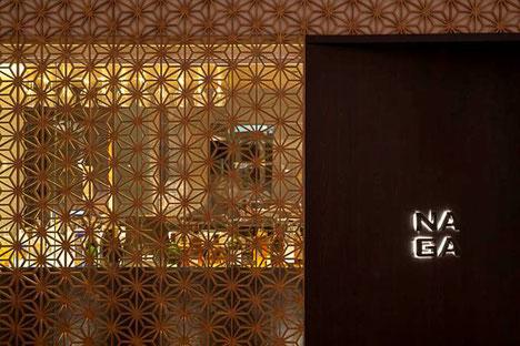 Fassade des Naga Restaurants in  Rio de Janeiro