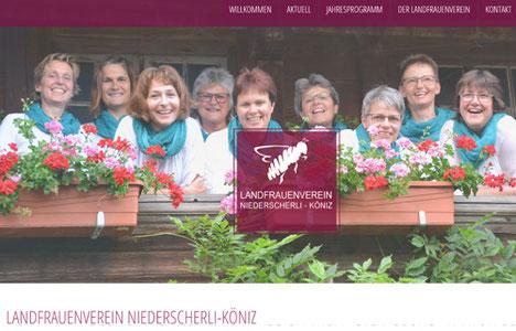 Landfrauenverein Niederscherli-Köniz ist online