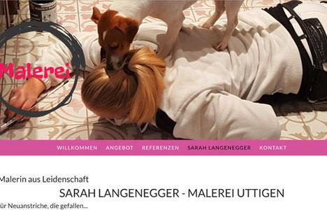 Malerei Langenegger, Sarah Langenegger, Region Thun