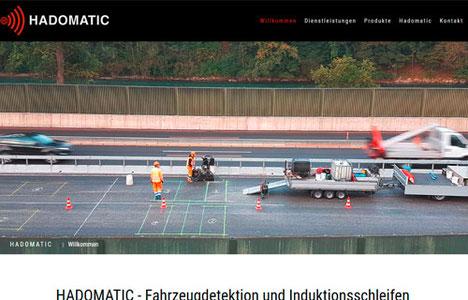 Hadomatic Fahrzeugdetektion und Induktionsschleifen Oberdiessbach