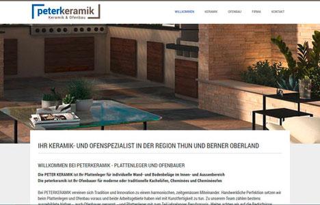 peterkeramik GmbH, Uebeschi bei Thun