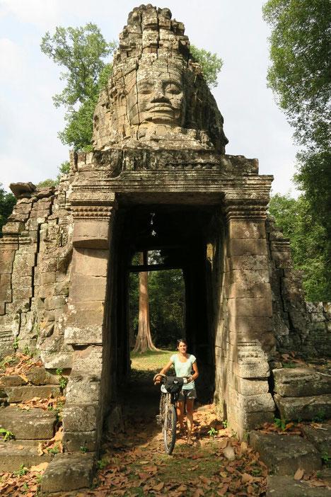 Entrée dérobée du Banteay Kdei