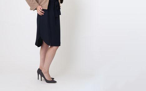 DoCLASSE ミラノリブ・バックぺプラムジャケット モデル 箱崎知子 ジョワーヌ東京