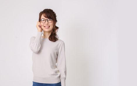 DoCLASSE バックレース・ニットプルオーバー モデル 川崎優季 ジョワーヌ東京