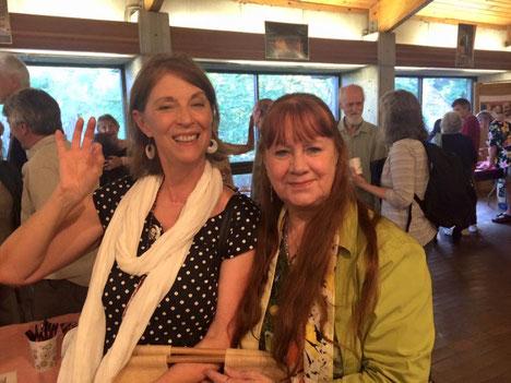 Aug.2016 - Ashville Sahavas ; Debbie with Raine Eastman-Gannett