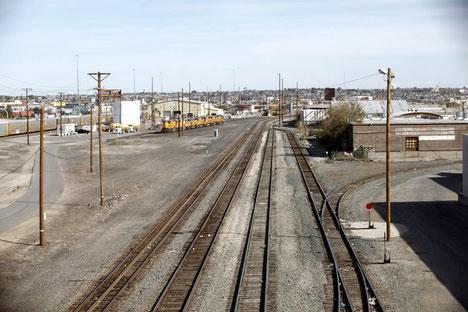 El Paso rail lines