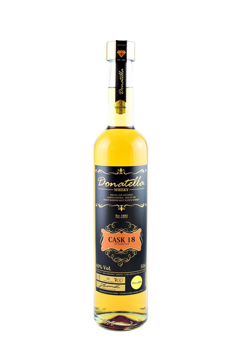 Donatella Whisky - Cask 18 Edition - ISW Arward Winner Gold
